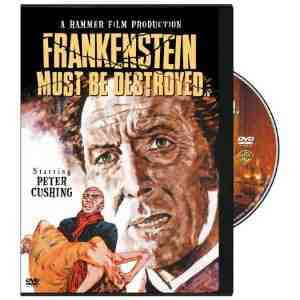 Frankenstein Must Be Destroyed DVD