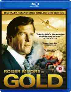 Gold Blu ray Roger Moore
