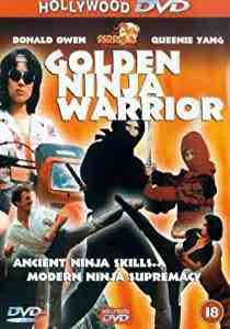 Golden Ninja Warrior DVD