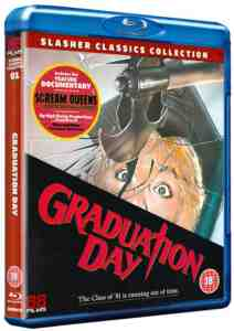 Graduation Day Blu ray Christopher George August