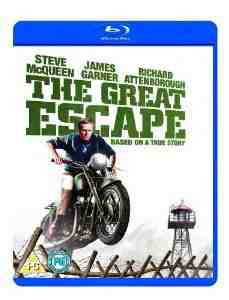 Great Escape Blu ray Steve McQueen