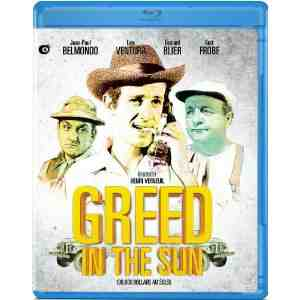 Greed Sun Blu ray Jean Paul Belmondo