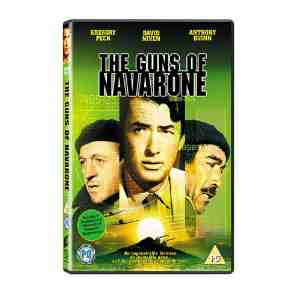 Guns Navarone DVD Gregory Peck