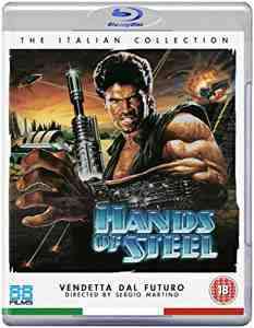 Hands Steel Blu ray Sergio Martino