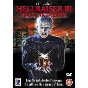 Hellraiser 3 Hell Earth DVD