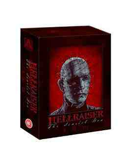 Hellraiser Scarlet Limited Trilogy Blu Ray