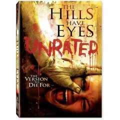 Hills Have Eyes Unrated DVD cover