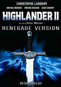Highlander 2 : Renegade version DVD