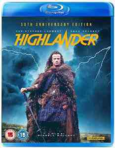 Highlander Blu ray Christopher Lambert