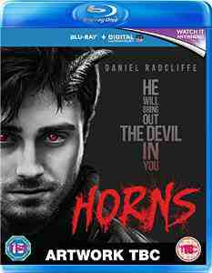 Horns Blu ray Daniel Radcliffe