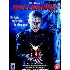 Hellraiser 1-3 DVD box set