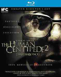 Human Centipede II Sequence Blu ray