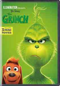 Illumination Presents: Dr. Seuss' The Grinch DVD