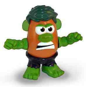 Incredible Hulk Green Potato Head