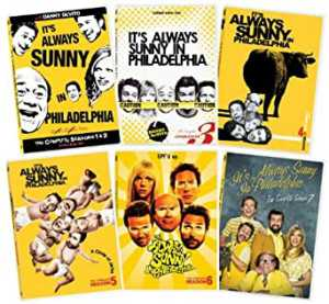 It's Always Sunny In Philadelphia Seasons 1-7 Collection by Danny DeVito DVD