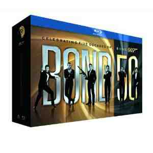 James Bond Film Collection Blu ray