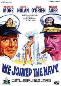 Joined Navy DVD Kenneth More