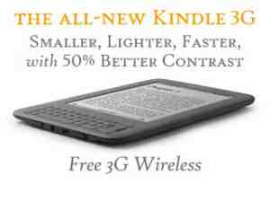 Kindle Wireless Reader 3G Wifi Graphite