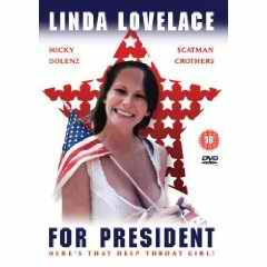 Linda Lovelace for President DVD