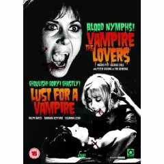 Lust for a Vampire double bill DVD