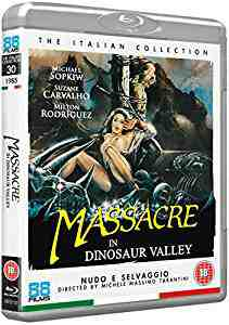 Massacre In Dinosaur Valley Blu-ray
