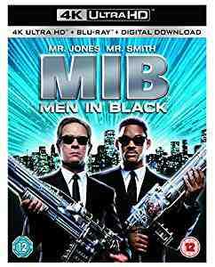 Men In Black 4k Blu-ray
