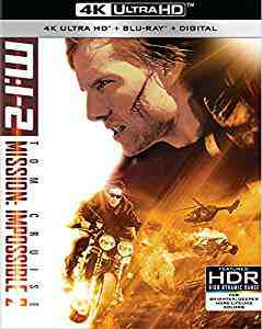 Mission: Impossible 2 4k Blu-ray