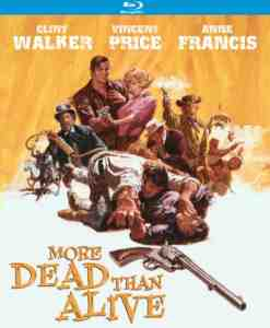 More Dead Than Alive Blu ray