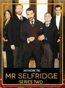 Mr Selfridge DVD Jeremy Piven
