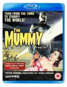 Mummy DVD Blu ray Christopher Lee