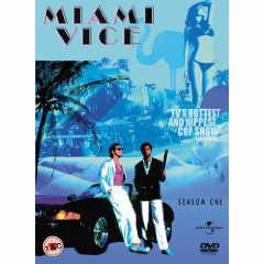Miami Vice Series 1 DVD cover