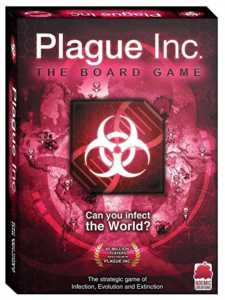 Ndemic Creations Plague Inc. Board Game