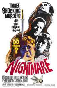 Nightmare Blu ray David Knight