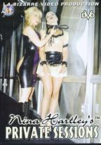 Nina Hartley's Private Sessions 1 DVD cover