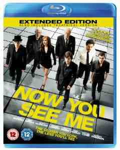 Now You See Me Blu ray