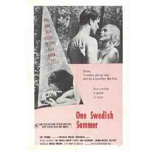 One Swedish Summer Poster Movie