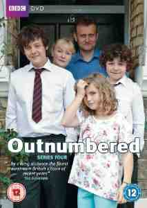 Outnumbered 4 DVD Hugh Dennis