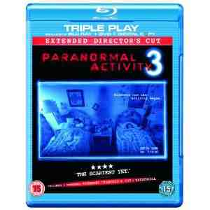 Paranormal Activity Triple Blu ray Digital