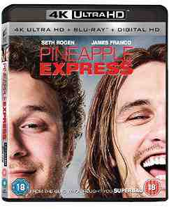 Pineapple Express Blu ray Seth Rogen