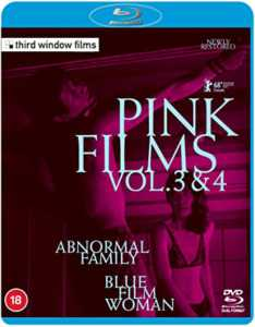Pink Films Vol 3 & 4 - Abnormal Family / Blue Film Woman Blu-rayCombo