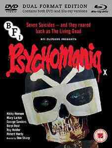 Psychomania DVD Blu ray George Sanders