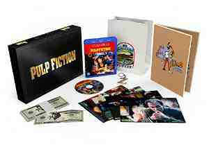 Pulp Fiction Anniversary Deluxe Blu ray