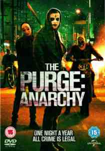 Purge Anarchy DVD Frank Grillo