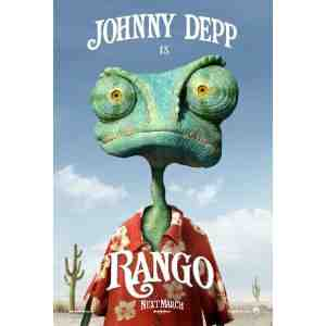 Rango DVD Johnny Depp