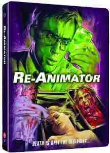 Re Animator Limited Disc Steelbook Blu Ray