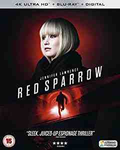 Red Sparrow 4k Blu-ray