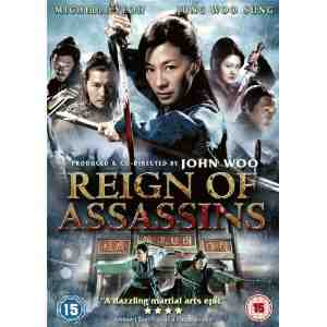 Reign Assassins DVD Michelle Yeoh