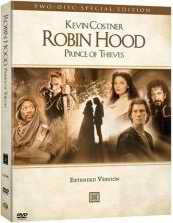 Robin Hood Prince of Thieves DVD cover