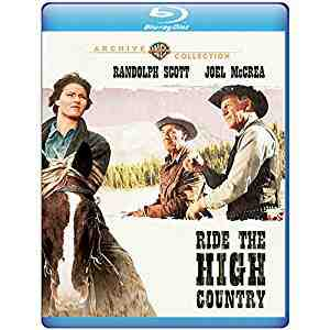 Ride the High Country Blu-ray