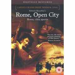 Rome, Open City DVD